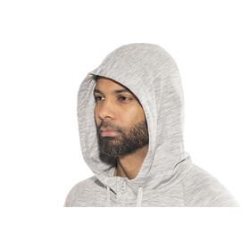 super.natural Essential Zip Hoodie Men Ash Melange